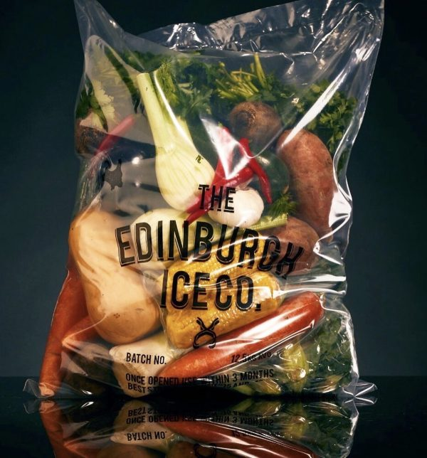 The Edinburgh Ice Co Home Delivery Veg Bag